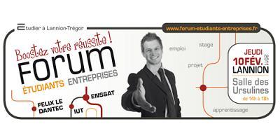 Forum Etudiants-Entreprises, Lannion