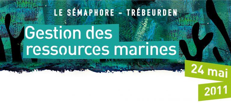 Colloque Gestion des ressources marines: télécharger les présentations