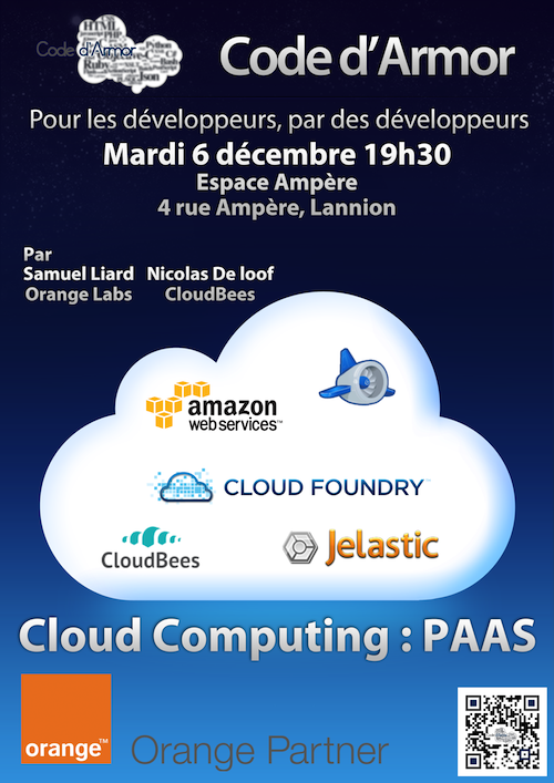 Soirée Code d'Armor - Cloud Computing : PAAS