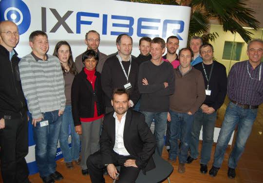Revue de presse - Ixfiber a la fibre pour croître