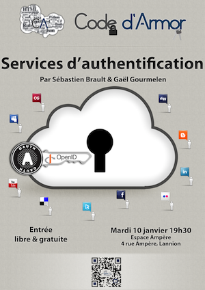 Soirée Code d'Armor : la délégation d'authentification