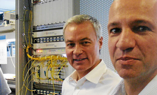 Revue de presse - Ekinops exporte sa technologie jusqu'en Russie et en Inde