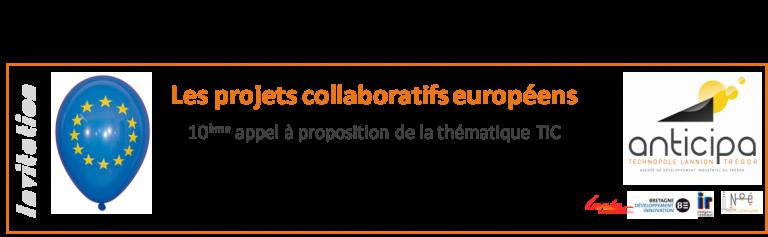 Réunion Europe - 10ème appel à proposition TIC