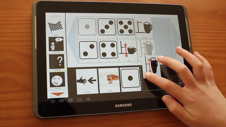 Ezooty lance une nouvelle version de Comooty : une application sur tablette tactile qui facilite la communication des personnes privées de moyens d'expression orale