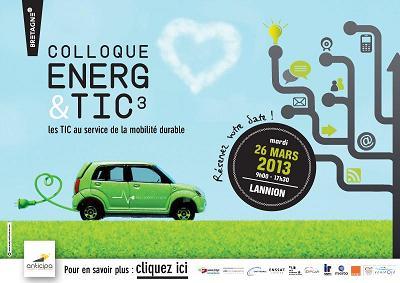 Colloque Energ&TIC3 : téléchargez les présentations