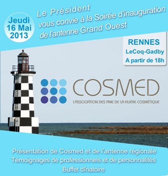 Inauguration de l'antenne Cosmed Grand Ouest