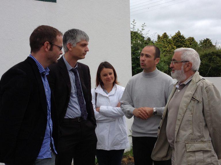 Les élus du Centre Trégor en visite chez PRIB et LCP