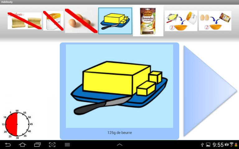EZOOTY lance  HABILOOTY, un logiciel d'aide à la réalisation de tâche sur tablette tactile