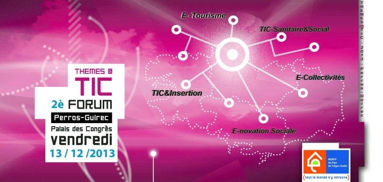 Forum Thèmes@TIC, 2ème édition!
