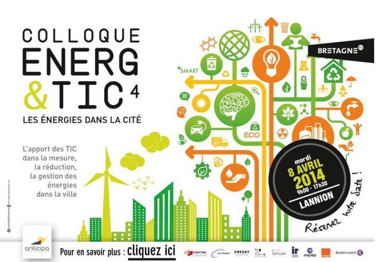 Colloque Energ&TIC4 : les énergies dans la cité