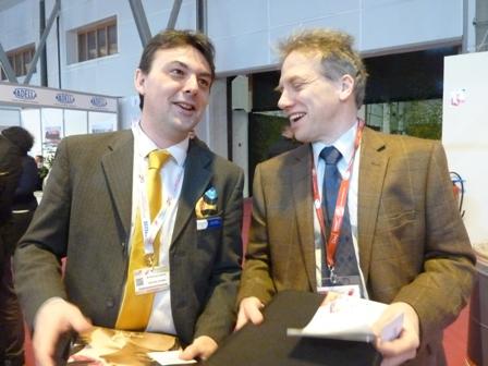 CFIA : succès pour la rencontre franco-britannique sur le stand Anticipa-CHAIN