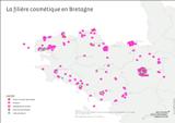 Nouveau : une cartographie de la filière cosmétique