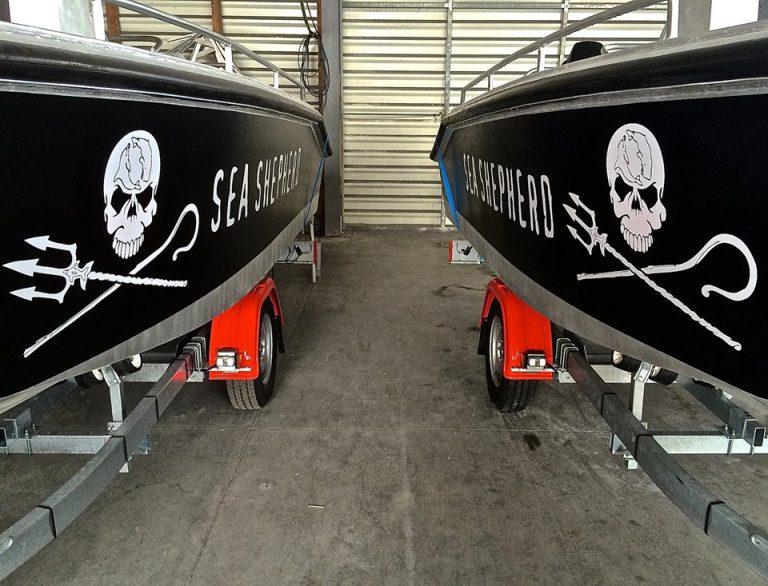 Bord à Bord livre quatre bateaux d'intervention pour l'ONG Sea Shepherd