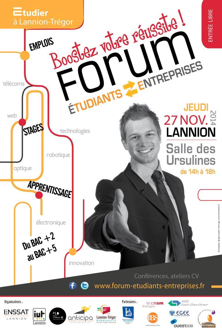 Le rendez-vous des Etudiants et des Entreprises innovantes