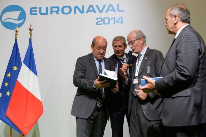 Ixblue récompensé aux Trophées Euronaval 2014