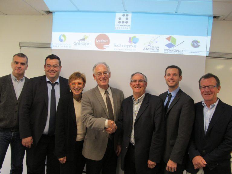 Naissance du 1er  réseau d'accompagnement des entreprises innovantes en Bretagne