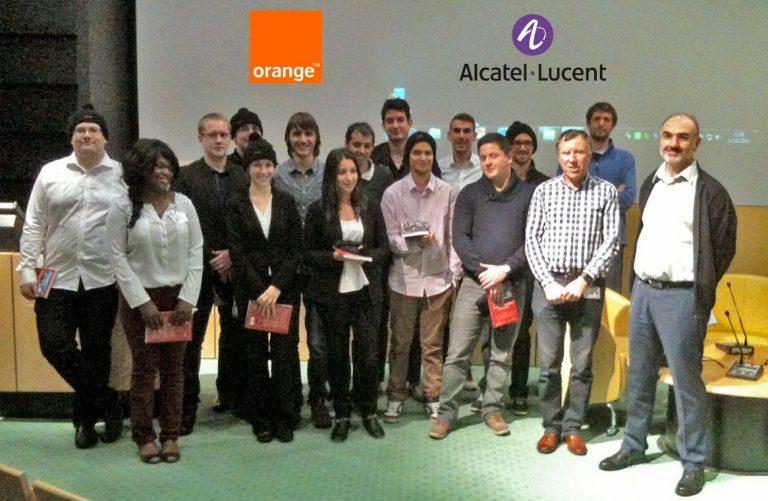 Des étudiants de l'Enssat remportent le Challenge de l'Innovation 2014