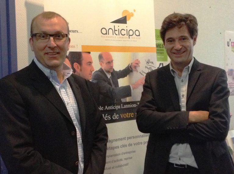 Anticipa accompagne l'une des 10 start-up les plus prometteuses de France