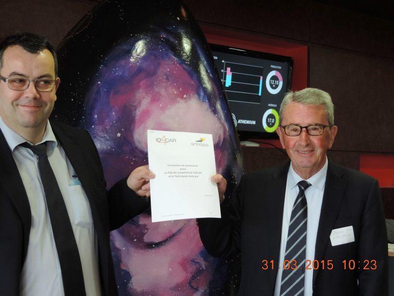 Id4car et Anticipa signent une convention de partenariat