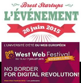 Brest Startups, West Web Festival : Anticipa partenaire des deux événements phare de l'été !