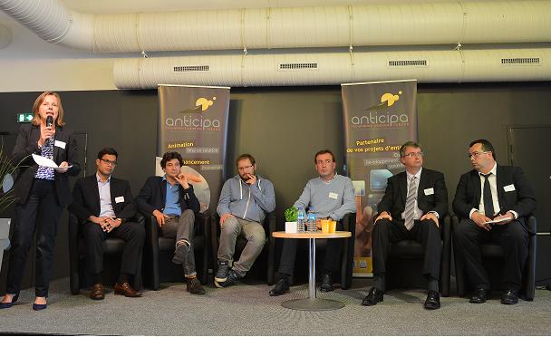 Table ronde Anticipa et Numérique : des startups so Breizh...so French