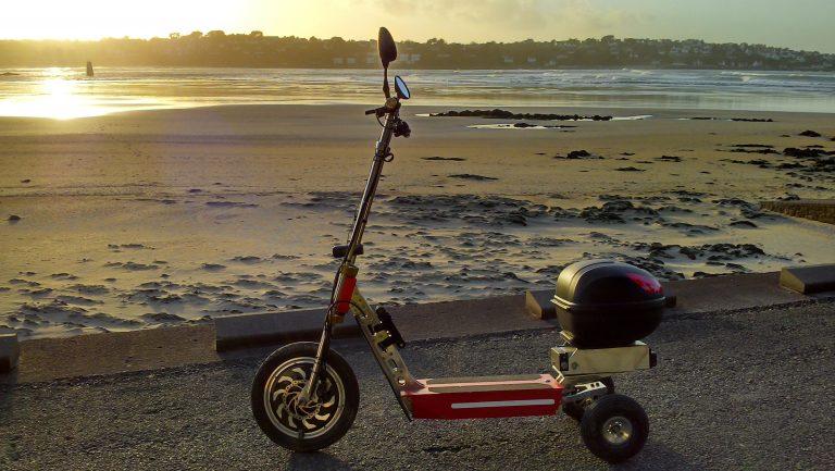Le tour de Bretagne en trottinette électrique