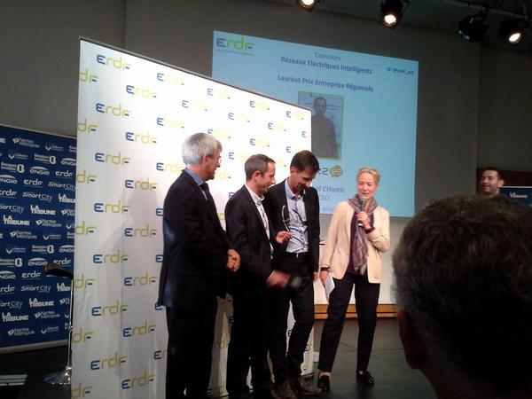 Apizee lauréate du concours Réseaux Electriques Intelligents d'ERDF