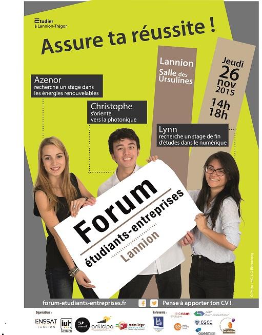 Succès pour la 6ème édition du Forum Etudiants Entreprises