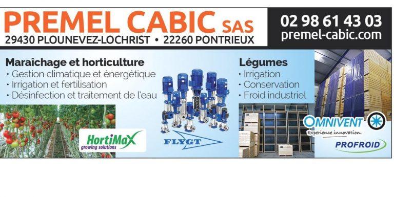 Premel Cabic s'installe à Plouisy