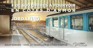 600 postes à pourvoir en Côtes-d'Armor (Bretagne) – Rendez-vous le 19 novembre