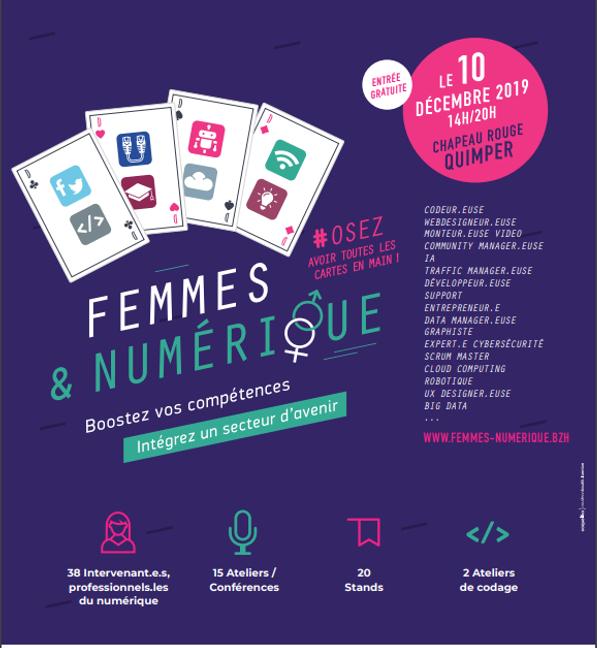 Femmes & Numérique : Venez découvrir les métiers du numérique !