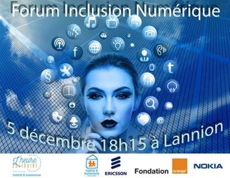 Forum Inclusion Numérique : du temps pour partager sa connaissance