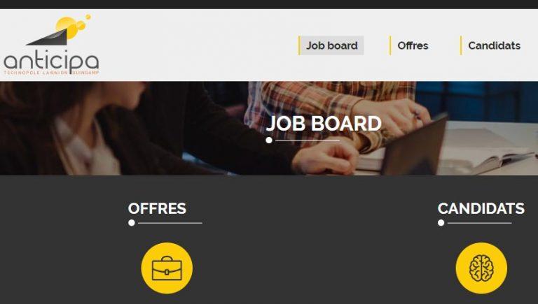 Job Board Anticipa : Postez vos offres et déposez vos CV en ligne