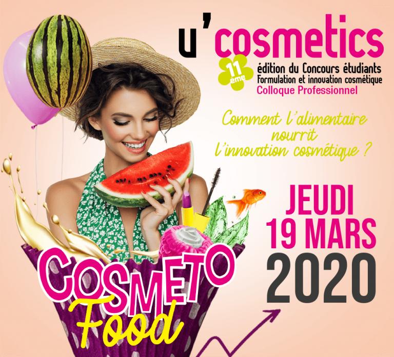 U'COSMETICS 2020 - Colloque annulé mais concours maintenu
