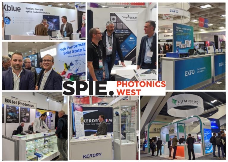 Les entreprises lannionnaises à San Francisco pour Photonics West