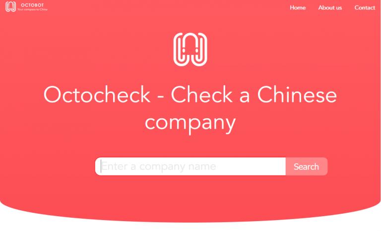 La startup lannionnaise Octobot Consulting, spécialisée dans l'information économique sur les entreprises chinoises, lance son moteur de recherche Octocheck