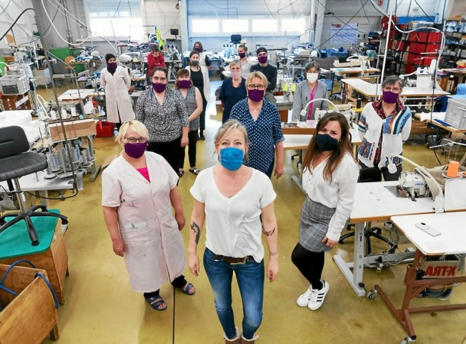 Dolmen recrute pour produire des masques