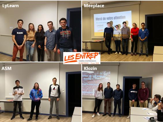 Les Entrep' 2020 : 4 projets lannionnais primés !