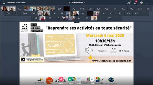 [REPLAY] Webinaire 7Technopoles Bretagne : reprendre ses activités en toute sécurité