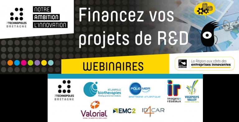 Webinaire financez vos projets de R&D: la R&D collaborative