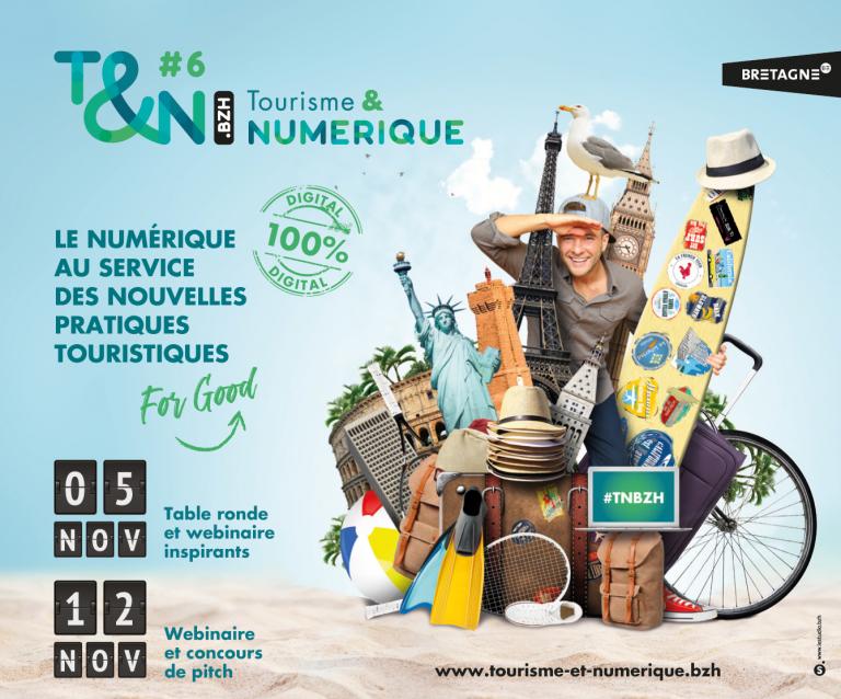 Tourisme & Numérique #6 : la tech au service d'un tourisme responsable