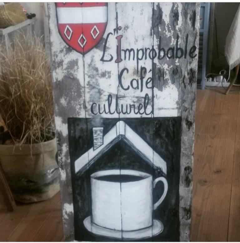 L'Improbable, un café culturel voit le jour au manoir de Porjou