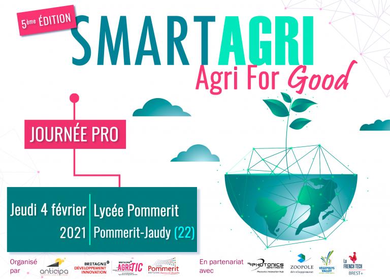 SmartAgri dévoile le thème de sa 5ème édition : agri for good!