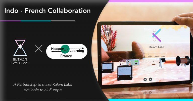 Partenariat européen entre Kalam Labs et Happee Learning
