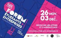 Forum Etudiants Entreprises 2020 100% numérique : le coup d'envoi est lancé !