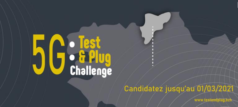 CHALLENGE 5G TEST&PLUG : APPEL A CANDIDATURES
