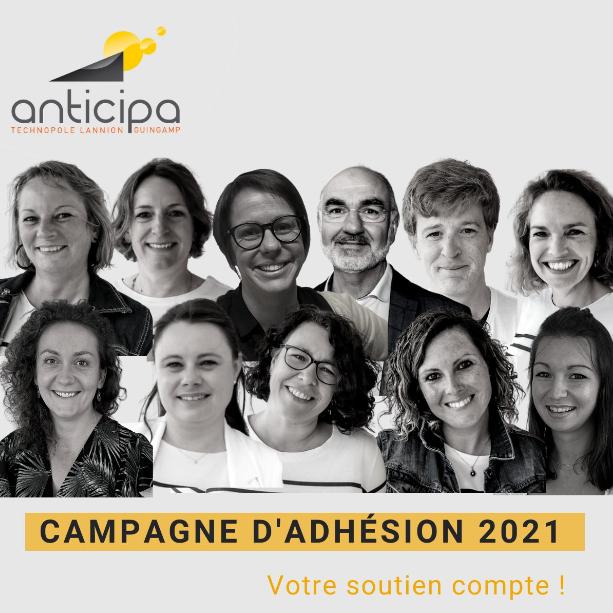 ANTICIPA LANCE SA CAMPAGNE D'ADHÉSION 2021 : SOUTENEZ L'ACTIVITÉ ÉCONOMIQUE DE VOTRE TERRITOIRE
