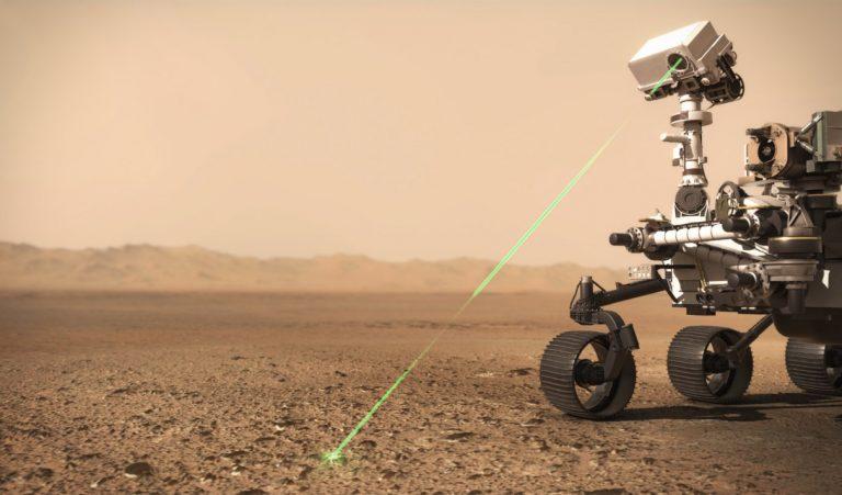 DES DIODES DE LUMIBIRD SUR MARS