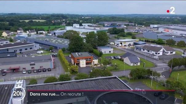 JT DE FRANCE 2 : LANNION À L'HONNEUR POUR SON DYNAMISME ÉCONOMIQUE !